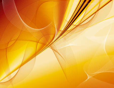 Abstraction golden design with gauze, background for card and other design artworks  photo
