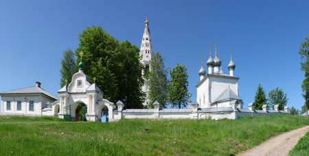 Monastery in Sudislavl town, Russia, Kostromskaya area Stock Photo - 10068379