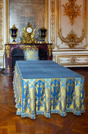 Palace Versailles in France, near to Paris , luxury interior of room