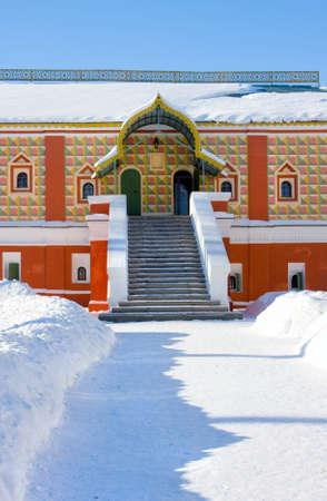 boyar: Russia. Christianity  monastery in Kostroma city, Palace of boyar Romanov, Museum