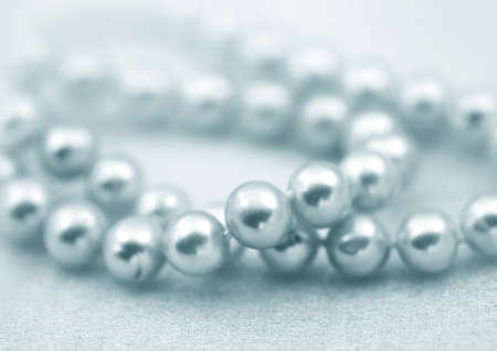textille: Elegant jewelry beads with jewel stone pearl  Stock Photo