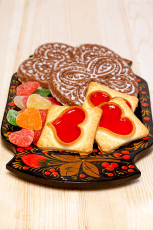 Tasty cookies and Gingerbreads  photo