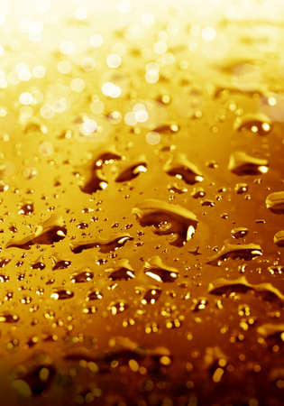 dampness: Drops of water close- up, natural texture Stock Photo