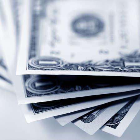 american money: The money American dollars  Bundle of bank notes