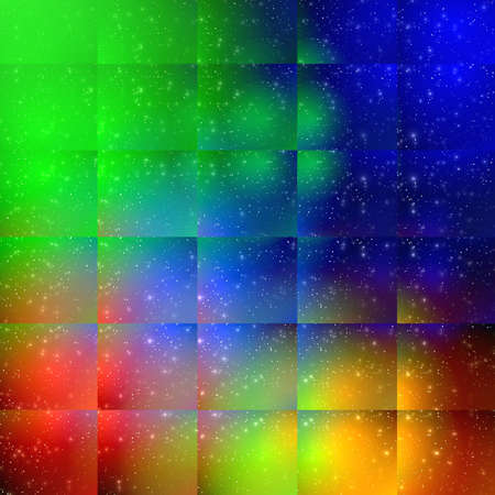 generated: Vibrant abstract background for various  design artworks, cards
