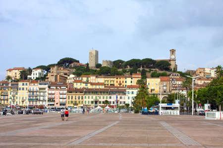 azure coast: Azure coast of france, Cannes resort, old town Stock Photo