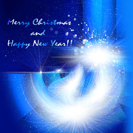 compliments: Merry Christmas and happy new year, congratulation