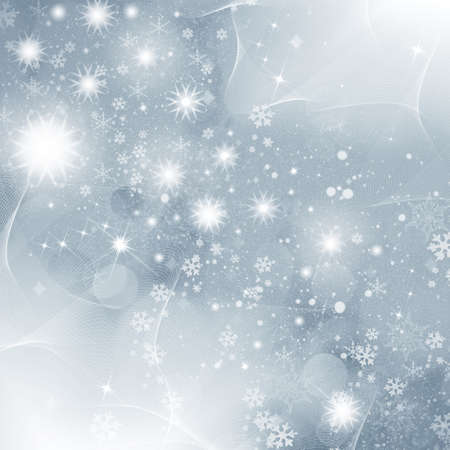 Christmas snowflakes for congratulation cards and design photo