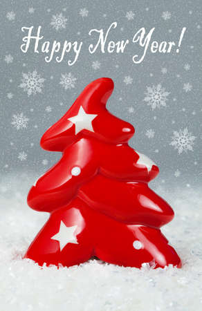 Christmas tree decorations , background for holidays card and cover photo