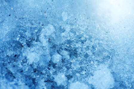 Blue icy natural background for design artwork photo