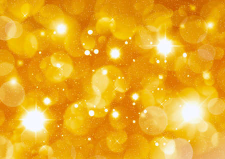 Christmas golden background for congratulation cards and design Stock Photo - 16690640