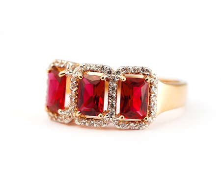 jewelle: Jewelry accessories ruby ring
