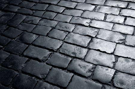 Manera Cobbly, camino cubierto de piedras