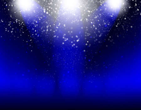 Abstract  blue  light  background graphics for design artwork