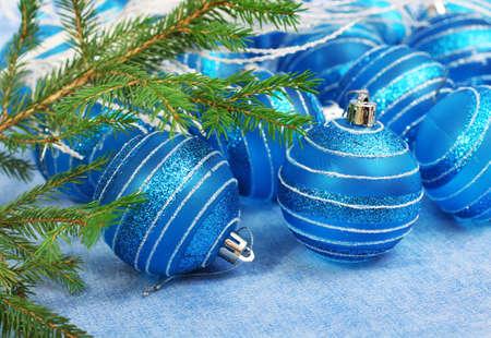 Christmas  balls for design xmas card