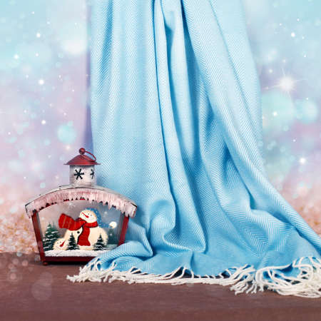 Christmas decor for design xmas cards, banners and  site Standard-Bild