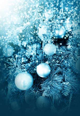 Christmas tree decorations Standard-Bild