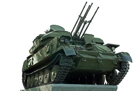 radar gun: Shilka tanque