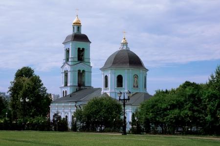 tsaritsino: Tsaritsino church Stock Photo