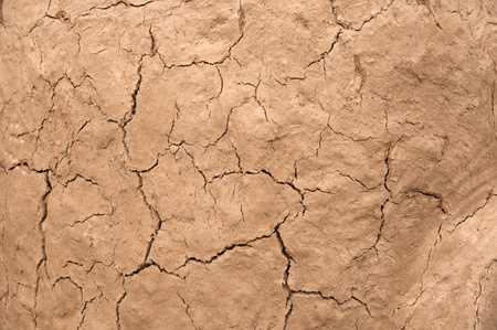 cracked earthen wall background photo