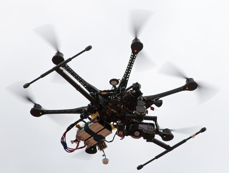 Remote control helicopter with camera photo