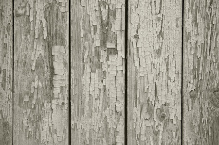 crannied: old chapped wooden neutral grey background Stock Photo