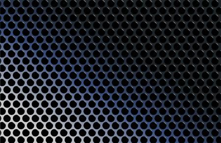 abstract techno metallic gradient grid vector illustration Stock Vector - 23083484