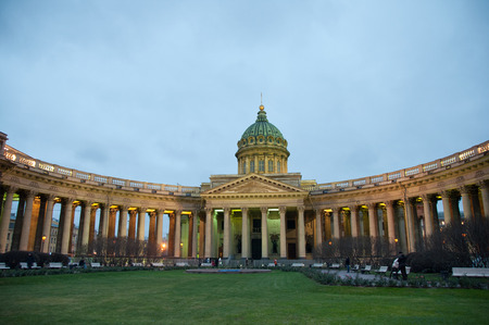 Cathedral of Our Lady of Kazan, St  Petersburg, Russia photo