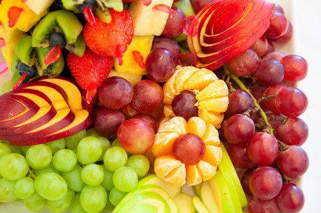 group of colorful fruit photo