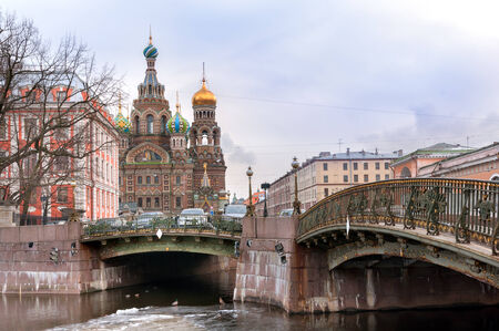 Church of the Savior on Blood, St Petersburg, Russia photo