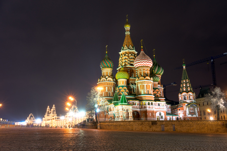 Spectacular view of St. Basil photo
