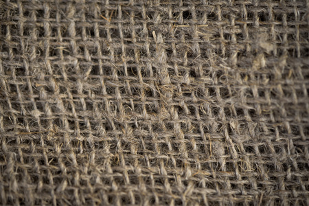 antiquity: Texture of sackcloth close up. Antiquity environment Stock Photo