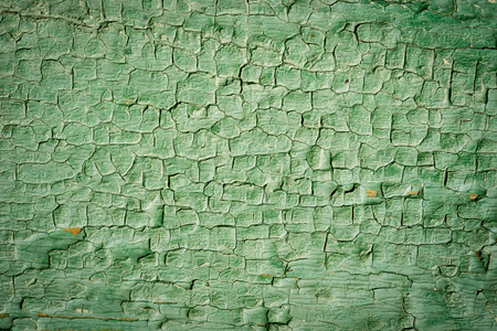 painted wood: Old green painted wood surfaces Stock Photo