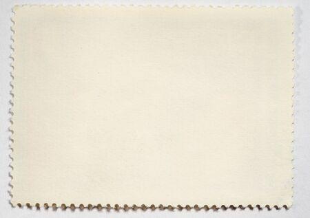 estampilla: Mensaje en blanco sello de edad Foto de archivo