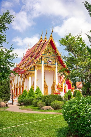 chalong: Wat Chalong temple in Phuket