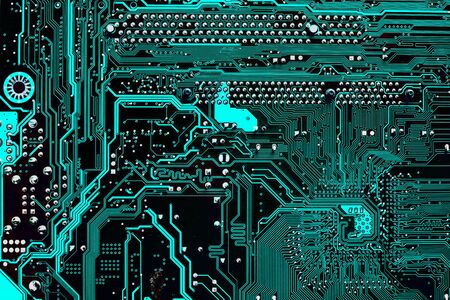 electronic background: Computer electronic circuit abstract background