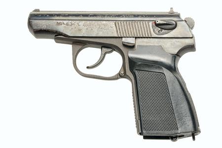 pm: PM pistol isolated on white background Stock Photo