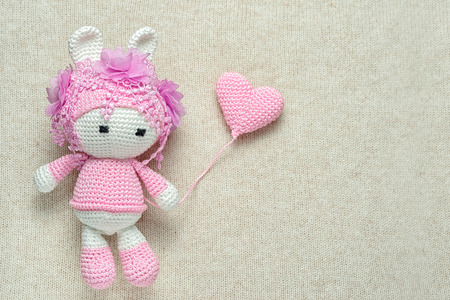 Amigurumi Crochet 3D Heart Free Patterns Perfect Valentine Gift Ideas | 300x450