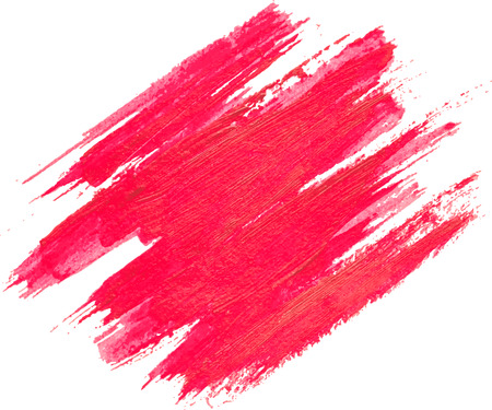 Red watercolor texture on white background, eps 10 vector illustration. Illustration