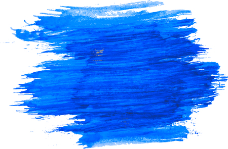 Blue watercolor texture. Illustration