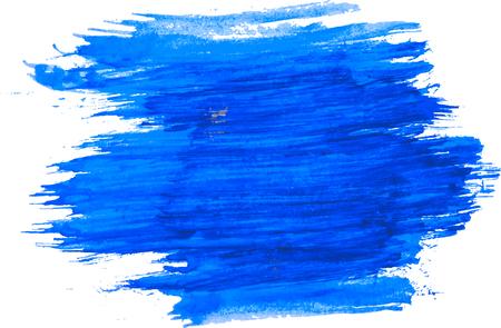 Blue watercolor texture. Vectores
