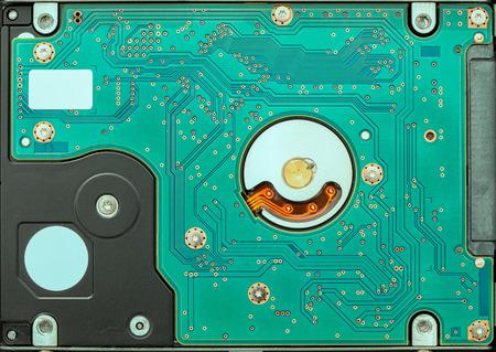 hard drive disk pattern Banco de Imagens - 103237430