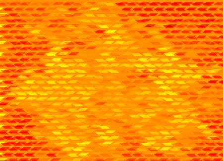 Awesome geomeric tetragon abstract poligonal mosaic background in orange colors, eps 10 vector illustration.