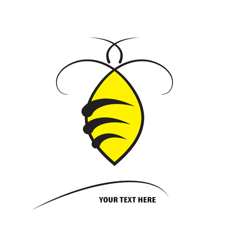 Bumble bee design vector template linear style icon royalty free bumble bee design vector template linear style icon stock vector 109351249 maxwellsz