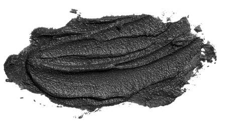 Black smear of magnetic face mask