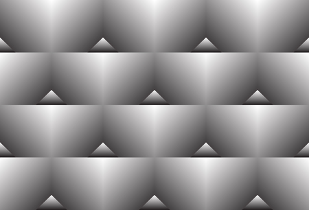 White to black color transition triangle halftone gradient pattern. Abstract geometric design.