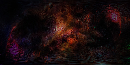 Abstract dark texture surface of far away planet in deep space