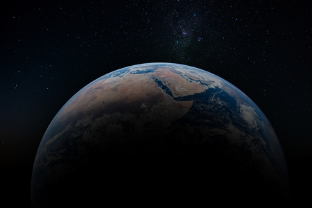Planet Earth from orbit