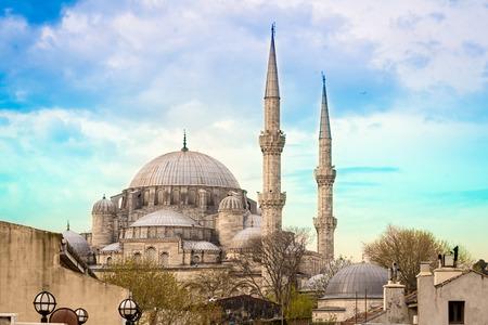 Mosquée Fatih (Mosquée du Conquérant), Istanbul.
