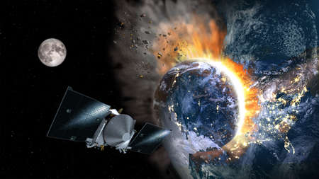 Technological disaster from space.
